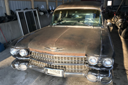 1959 Cadillac Hearse running project