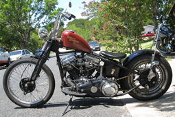 1962 H-D Panhead Chopper